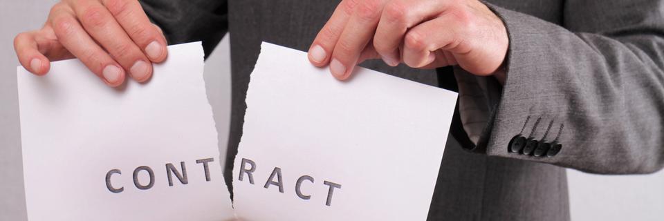 Odstąpienie iwypowiedzenie umowy – jaka jest różnica?