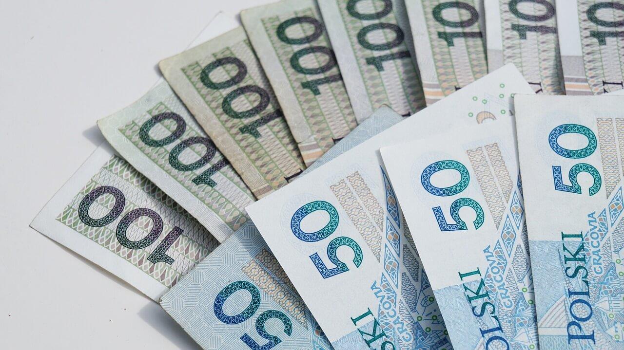 Pienidze, Banknoty, Sto Złotych, Pięćdziesiąt Złotych